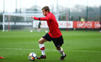 SOUTHAMPTON, ENGLAND - JANUARY 06: Kornelius Hansen ahead of the U18 PL match between Southampton FC and West Ham United FC at Staplewood Complex on January 6, 2018 in Southampton, England. (Photo by James Bridle - Southampton FC/Southampton FC via Getty Images)