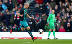 LONDON, ENGLAND - JANUARY 06: Southampton's Oriol Romeu during the Emirates FA Cup third round match between Fulham FC and Southampton FC at Craven Cottage on January 6, 2018 in London, England. (Photo by Matt Watson/Southampton FC via Getty Images)