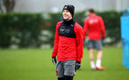 SOUTHAMPTON, ENGLAND - JANUARY 11: Matt Target during a Southampton FC training session at Staplewood Complex on January 11, 2018 in Southampton, England. (Photo by James Bridle - Southampton FC/Southampton FC via Getty Images)