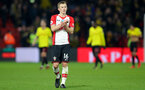 WATFORD, ENGLAND - JANUARY 13: James Ward-Prowse of Southampton during the Premier League match between Watford and Southampton at Vicarage Road on January 13, 2018 in Watford, England. (Photo by Matt Watson/Southampton FC via Getty Images)