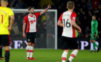 WATFORD, ENGLAND - JANUARY 13: Jack Stephens of Southampton during the Premier League match between Watford and Southampton at Vicarage Road on January 13, 2018 in Watford, England. (Photo by Matt Watson/Southampton FC via Getty Images)