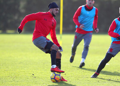 Gallery: Saints prepare for Spurs