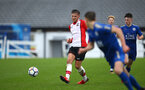 SOUTHAMPTON, ENGLAND - JANUARY 27: Harry Hamblin (left) during the match between Southampton FC and Leicester FC U18s at Leicester FC Training ground on January 27, 2018 in Southampton, England. (Photo by James Bridle / Southampton FC via Getty Images)