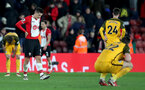 SOUTHAMPTON, ENGLAND - JANUARY 31: Guido Carrillo of Southampton FC during the Premier League match between Southampton and Brighton and Hove Albion at St Mary's Stadium on January 31, 2018 in Southampton, England. (Photo by Matt Watson/Southampton FC via Getty Images)