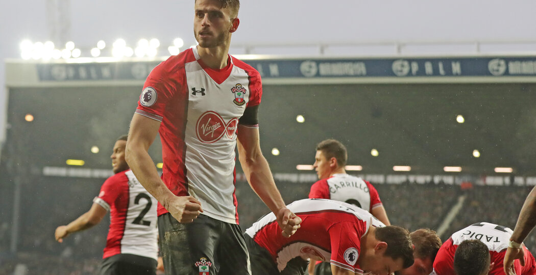 WEST BROMWICH, ENGLAND - FEBRUARY 03: Wesley Hoedt of Southampton FC during the Premier League match between West Bromwich Albion and Southampton at The Hawthorns on February 3, 2018 in West Bromwich, England. (Photo by Matt Watson/Getty Images)