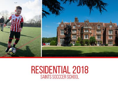 Saints Foundation's ultimate soccer school experience
