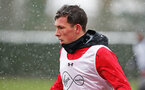 SOUTHAMPTON, ENGLAND - MARCH 02: Pierre-Emile Hojbjerg of Southampton FC during a training session at the Staplewood Campus on March 2, 2018 in Southampton, England. (Photo by Matt Watson/Southampton FC via Getty Images)