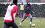 SOUTHAMPTON, ENGLAND - MARCH 02: Dusan Tadic of Southampton FC during a training session at the Staplewood Campus on March 2, 2018 in Southampton, England. (Photo by Matt Watson/Southampton FC via Getty Images)