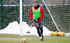 SOUTHAMPTON, ENGLAND - MARCH 02: Fraser Forster of Southampton FC during a training session at the Staplewood Campus on March 2, 2018 in Southampton, England. (Photo by Matt Watson/Southampton FC via Getty Images)