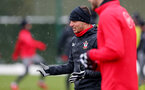SOUTHAMPTON, ENGLAND - MARCH 02: Cedric of Southampton FC during a training session at the Staplewood Campus on March 2, 2018 in Southampton, England. (Photo by Matt Watson/Southampton FC via Getty Images)