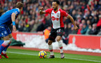 SOUTHAMPTON, ENGLAND - MARCH 03: Nathan Redmond of Southampton during the Premier League match between Southampton and Stoke City at St Mary's Stadium on March 3, 2018 in Southampton, England. (Photo by Matt Watson/Southampton FC via Getty Images)