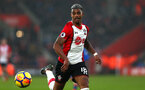 SOUTHAMPTON, ENGLAND - MARCH 03: Mario Lemina of Southampton FC during the Premier League match between Southampton and Stoke City at St Mary's Stadium on March 3, 2018 in Southampton, England. (Photo by James Bridle - Southampton FC/Southampton FC via Getty Images)