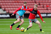 Gallery: Saints train at St Mary's