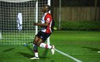SOUTHAMPTON, ENGLAND - MARCH 16: Michael Obafemi during the U23's match between Southampton FC and Leicester City FC at Staplewood Complex on March 16, 2018 in Southampton, England. (Photo by James Bridle - Southampton FC/Southampton FC via Getty Images)