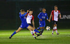 SOUTHAMPTON, ENGLAND - MARCH 16: Thomas OÕConnor (middle) during the U23's match between Southampton FC and Leicester City FC at Staplewood Complex on March 16, 2018 in Southampton, England. (Photo by James Bridle - Southampton FC/Southampton FC via Getty Images) SOUTHAMPTON, ENGLAND - MARCH 16: Thomas O'Connor (middle) during the U23's match between Southampton FC and Leicester City FC at Staplewood Complex on March 16, 2018 in Southampton, England. (Photo by James Bridle - Southampton FC/Southampton FC via Getty Images)