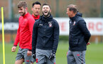SOUTHAMPTON, ENGLAND - MARCH 20: Charlie Austin during a Southampton FC training session at the Staplewood Campus on March 20, 2018 in Southampton, England. (Photo by Matt Watson/Southampton FC via Getty Images)