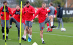SOUTHAMPTON, ENGLAND - MARCH 20: James Ward-Prowse during a Southampton FC training session at the Staplewood Campus on March 20, 2018 in Southampton, England. (Photo by Matt Watson/Southampton FC via Getty Images)