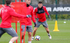 SOUTHAMPTON, ENGLAND - MARCH 20: Guido Carrillo during a Southampton FC training session at the Staplewood Campus on March 20, 2018 in Southampton, England. (Photo by Matt Watson/Southampton FC via Getty Images)
