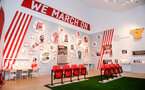 SOUTHAMPTON, ENGLAND - MARCH 28: during the opening night of the new Southampton FC Exhibition held at the Sea City Museum on March 28, 2018 in Southampton, England. (Photo by James Bridle - Southampton FC/Southampton FC via Getty Images)