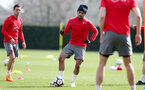 SOUTHAMPTON, ENGLAND - APRIL 06: Sofiane Boufal during a Southampton FC training session at the Staplewood Campus on April 6, 2018 in Southampton, England. (Photo by Matt Watson/Southampton FC via Getty Images)