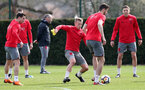 SOUTHAMPTON, ENGLAND - APRIL 06: James Ward-Prowse during a Southampton FC training session at the Staplewood Campus on April 6, 2018 in Southampton, England. (Photo by Matt Watson/Southampton FC via Getty Images)