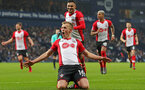 WEST BROMWICH, ENGLAND - FEBRUARY 03: James Ward-Prowse of Southampton FC celebrates during the Premier League match between West Bromwich Albion and Southampton at The Hawthorns on February 3, 2018 in West Bromwich, England. (Photo by Matt Watson/Getty Images)