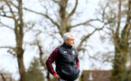 SOUTHAMPTON, ENGLAND - APRIL 17: Mark Hughes during a Southampton FC training session at Staplewood Complex on April 17, 2018 in Southampton, England. (Photo by James Bridle - Southampton FC/Southampton FC via Getty Images)