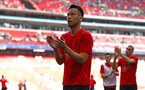 LONDON, ENGLAND - APRIL 22: Maya Yoshida of Southampton FC ahead of the Semi Final of the Emirates FA Cup between Southampton FC and Chelsea FC at Wembley Stadium on April 22, 2018 in London, England. (Photo by James Bridle - Southampton FC/Southampton FC via Getty Images)