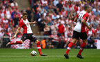 LONDON, ENGLAND - APRIL 22: Jan Bednarek (left) during the Semi Final of the Emirates FA Cup between Southampton FC and Chelsea FC at Wembley Stadium on April 22, 2018 in London, England. (Photo by James Bridle - Southampton FC/Southampton FC via Getty Images)