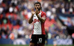 LONDON, ENGLAND - APRIL 22: Charlie Austin after the final whistle is blown for the Semi Final of the Emirates FA Cup between Southampton FC and Chelsea FC at Wembley Stadium on April 22, 2018 in London, England. (Photo by James Bridle - Southampton FC/Southampton FC via Getty Images)