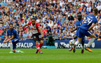 LONDON, ENGLAND - APRIL 22: Nathan Redmond of Southampton during the Emirates FA Cup Semi-Final between Chelsea and Southampton, at Wembley Stadium on April 22, 2018 in London, England. (Photo by Matt Watson/Southampton FC via Getty Images)