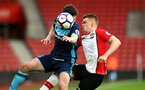 SOUTHAMPTON, ENGLAND - APRIL 23: Jake Hesketh (right) during the PL2 match between Southampton FC and Middlesbrough FC atSt Mary's Stadium on April 23, 2018 in Southampton, England. (Photo by James Bridle - Southampton FC/Southampton FC via Getty Images)