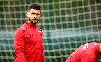 SOUTHAMPTON, ENGLAND - APRIL 24: Shane Long during an open training session with Southampton FC at Staplewood Complex on April 24, 2018 in Southampton, England. (Photo by James Bridle - Southampton FC/Southampton FC via Getty Images)