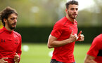 SOUTHAMPTON, ENGLAND - APRIL 26: Wesley Hoedt during a Southampton FC training session at Staplewood Complex on April 26, 2018 in Southampton, England. (Photo by James Bridle - Southampton FC/Southampton FC via Getty Images)