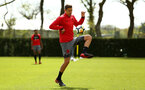 SOUTHAMPTON, ENGLAND - APRIL 26: Jan Bednarek during a Southampton FC training session at Staplewood Complex on April 26, 2018 in Southampton, England. (Photo by James Bridle - Southampton FC/Southampton FC via Getty Images)