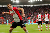 Video: Tadić reacts to Bournemouth success