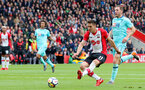 SOUTHAMPTON, ENGLAND - APRIL 28: Dusan Tadic of Southampton puts his team 1-0 up during the Premier League match between Southampton and AFC Bournemouth at St Mary's Stadium on April 28, 2018 in Southampton, England. (Photo by Matt Watson/Southampton FC via Getty Images)