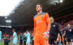 SOUTHAMPTON, ENGLAND - APRIL 28: Alex McCarthy of Southampton during the Premier League match between Southampton and AFC Bournemouth at St Mary's Stadium on April 28, 2018 in Southampton, England. (Photo by Matt Watson/Southampton FC via Getty Images)