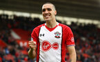 SOUTHAMPTON, ENGLAND - APRIL 28: Oriol Romeu of Southampton FC happy with a win at home during the Premier League match between Southampton and AFC Bournemouth at St Mary's Stadium on April 28, 2018 in Southampton, England. (Photo by James Bridle - Southampton FC/Southampton FC via Getty Images)