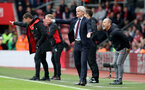 SOUTHAMPTON, ENGLAND - APRIL 28: Mark Hughes of Southampton during the Premier League match between Southampton and AFC Bournemouth at St Mary's Stadium on April 28, 2018 in Southampton, England. (Photo by Matt Watson/Southampton FC via Getty Images)