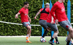 SOUTHAMPTON, ENGLAND - MAY 03: Cedric during a Southampton FC training session at the Staplewood Campus on May 3, 2018 in Southampton, England. (Photo by Matt Watson/Southampton FC via Getty Images)