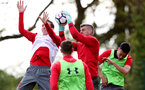 SOUTHAMPTON, ENGLAND - MAY 03: Fraser Forster during a Southampton FC training session at the Staplewood Campus on May 3, 2018 in Southampton, England. (Photo by Matt Watson/Southampton FC via Getty Images)