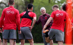 SOUTHAMPTON, ENGLAND - MAY 03: Mark Hughes during a Southampton FC training session at the Staplewood Campus on May 3, 2018 in Southampton, England. (Photo by Matt Watson/Southampton FC via Getty Images)