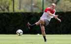 SOUTHAMPTON, ENGLAND - MAY 03: James Ward-Prowse during a Southampton FC training session at the Staplewood Campus on May 3, 2018 in Southampton, England. (Photo by Matt Watson/Southampton FC via Getty Images)