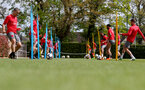 SOUTHAMPTON, ENGLAND - MAY 03: Southampton FC players(Left Oriol Romeu) during a training session at the Staplewood Campus on May 3, 2018 in Southampton, England. (Photo by Matt Watson/Southampton FC via Getty Images)