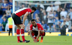 LIVERPOOL, ENGLAND - MAY 05: Ryan Bertrand of Southampton during the Premier League match between Everton and Southampton at Goodison Park on May 5, 2018 in Liverpool, England. (Photo by Matt Watson/Southampton FC via Getty Images)