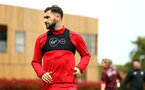 SOUTHAMPTON, ENGLAND - MAY 11: Charlie Austin during a Southampton FC training session at Staplewood Complex on May 11, 2018 in Southampton, England. (Photo by James Bridle - Southampton FC/Southampton FC via Getty Images)