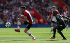 SOUTHAMPTON, ENGLAND - MAY 13: Dusan Tadic during the Premier League match between Southampton and Manchester City at St Mary's Stadium on May 13, 2018 in Southampton, England. (Photo by Chris Moorhouse/Southampton FC via Getty Images)
