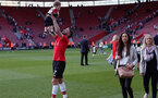 SOUTHAMPTON, ENGLAND - MAY 13: Shane Long. Lap of appreciation after the Premier League match between Southampton and Manchester City at St Mary's Stadium on May 13, 2018 in Southampton, England. (Photo by Chris Moorhouse/Southampton FC via Getty Images)
