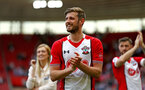 SOUTHAMPTON, ENGLAND - MAY 13: Jack Stephens of Southampton FC  claps the fans after the Premier League match between Southampton and Manchester City at St Mary's Stadium on May 13, 2018 in Southampton, England. (Photo by James Bridle - Southampton FC/Southampton FC via Getty Images)